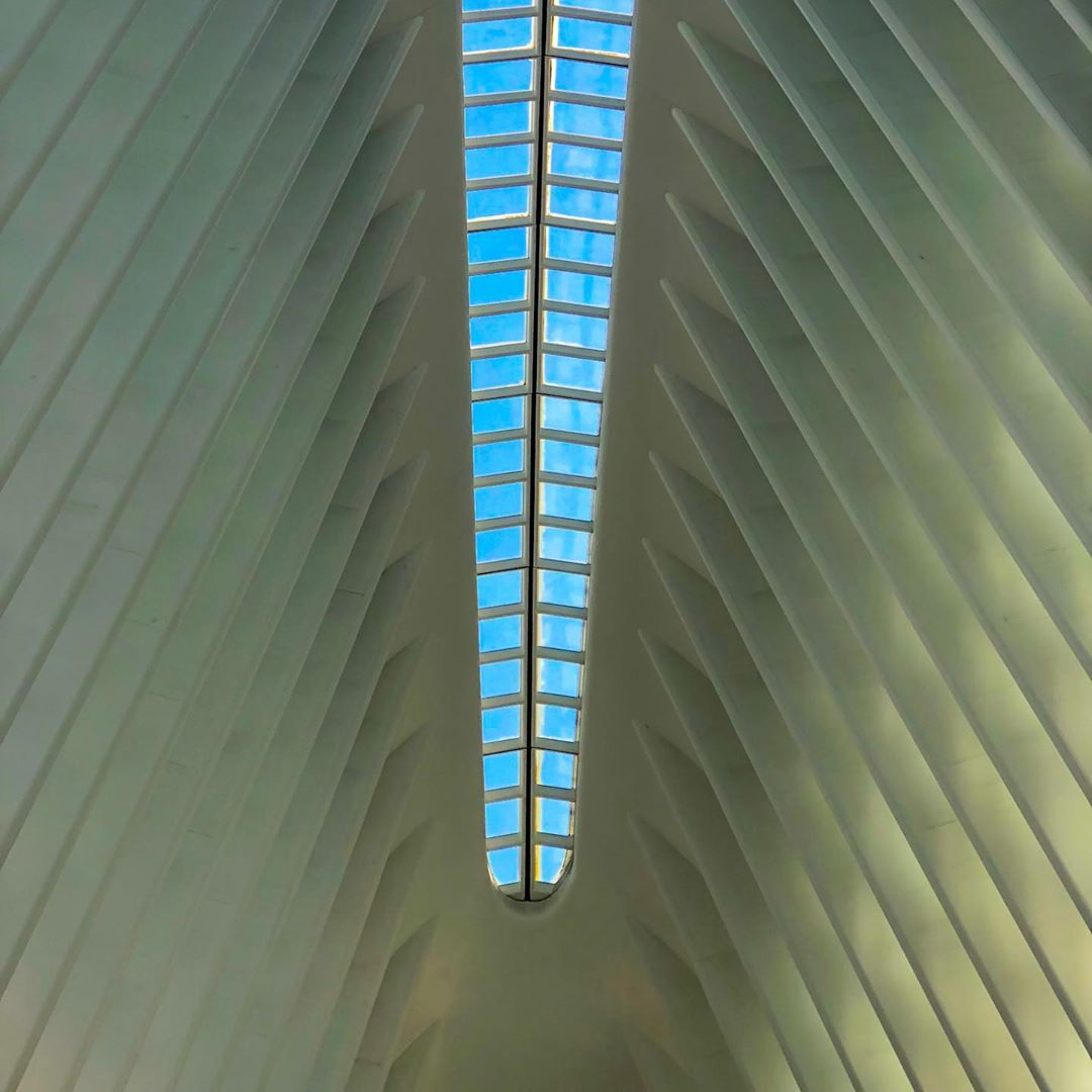 Found some more great architecture here in New York, the Oculus at the WTC ??